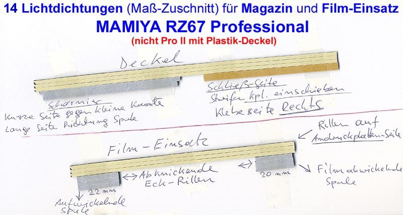 mamiya rz67 pro magazin